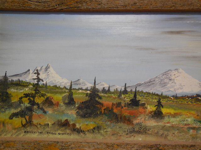 Lot Detail Original Paintings Of The Three Sisters