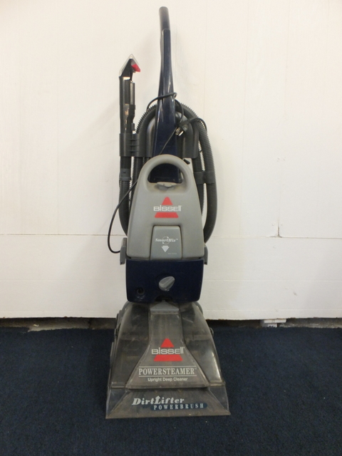 Lot Detail Bissel Power Steamer Rug Cleaner