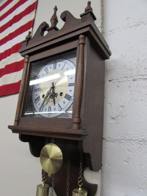 Hamilton wall clock 31 Day Hamilton 31 Day Wind Up Wall Clock Vintage Any And All Auctions Lot Detail Hamilton 31 Day Wind Up Wall Clock Vintage