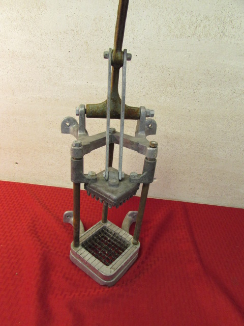 ... VINTAGE KING FRENCH FRY CUTTER ...