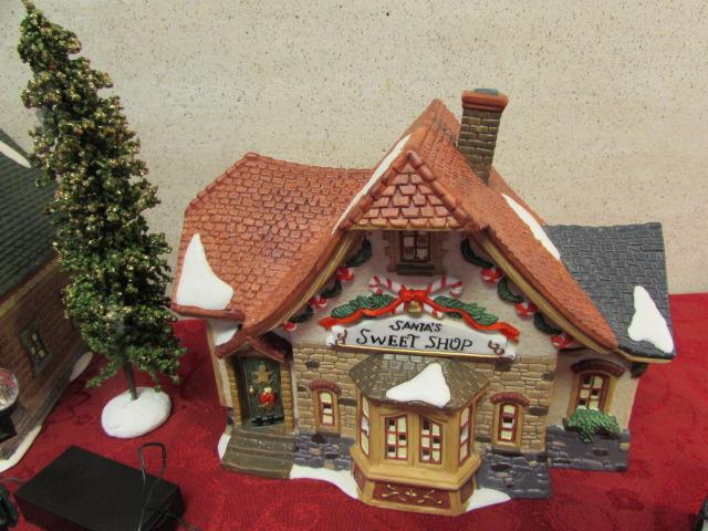 Ceramic christmas village houses christmas village ceramic