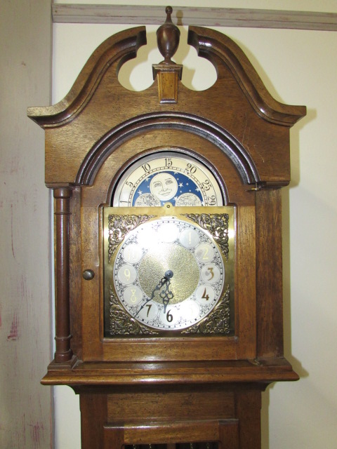Lot Detail Grandfather Clock Made In Western Germany
