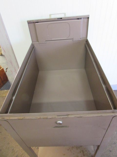 Top Load Metal Oxford File Cabinet