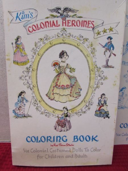 Lot Detail VINTAGE KIM S COLORING BOOK BY RED FARM STUDIO