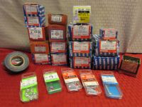 LOADS OF HARDWARE - COTTER PINS, MACHINE BOLTS & SCREWS & MORE