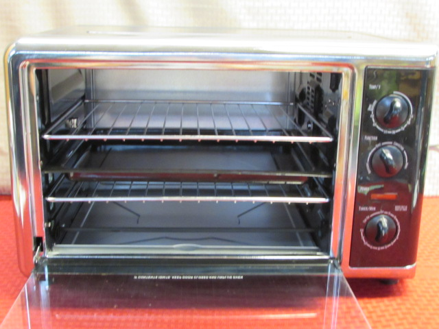 Lot detail very clean hamilton beach countertop oven for Oven cleaner on kitchen countertops