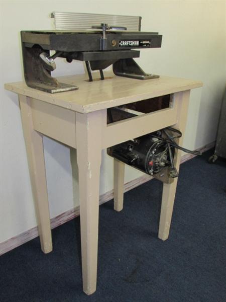 Lot Detail Craftsman Jointer With 1 Hp Craftsman Motor