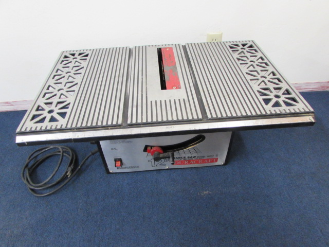 Lot detail duracraft 12 table saw with blade fence for 12 table saw blades