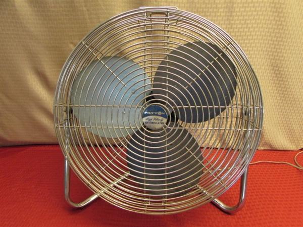Hot Air Circulator : Lot detail whatever blows your hair back patton high