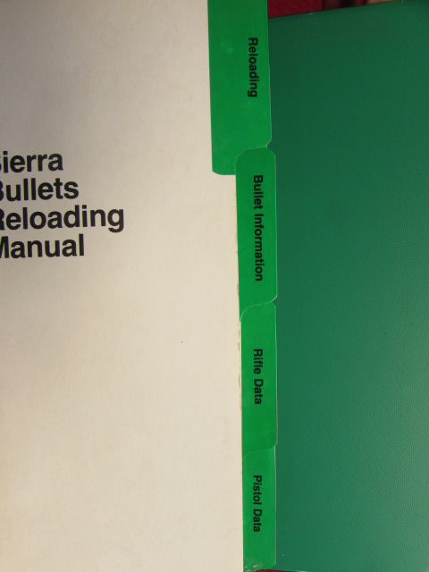 sierra 6th edition reloading manual