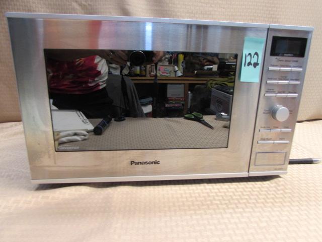 Lot Detail Relatively New Panasonic Inverter Microwave