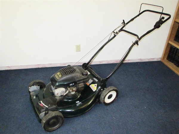 Craftsman Eager 1 5 5 hp mower manual