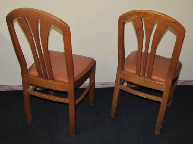 Lot Detail Two Well Made Vintage Side Chairs With