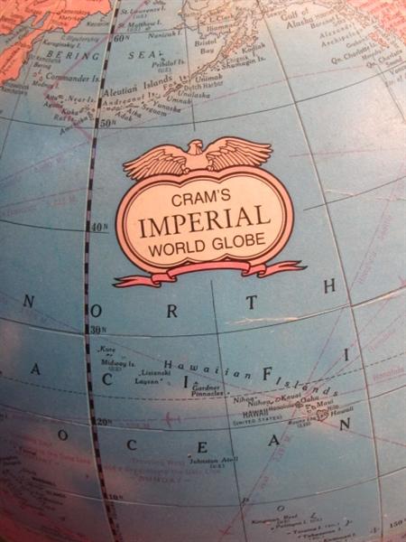vintage crams imperial globe