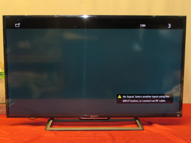 Lot Detail - SONY BRAVIA FLAT SCREEN LED-HD TV -- 40 ...