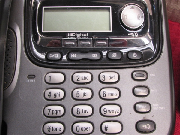 how to delete phone numbers from uniden tru3466