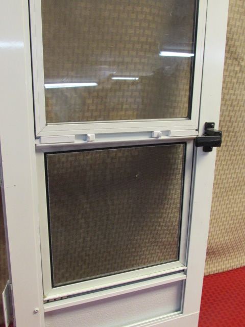 ... VENTILATION FOR YOUR GREENHOUSE OR PLAYHOUSE DOOR SAMPLE SIZE SCREEN  DOOR