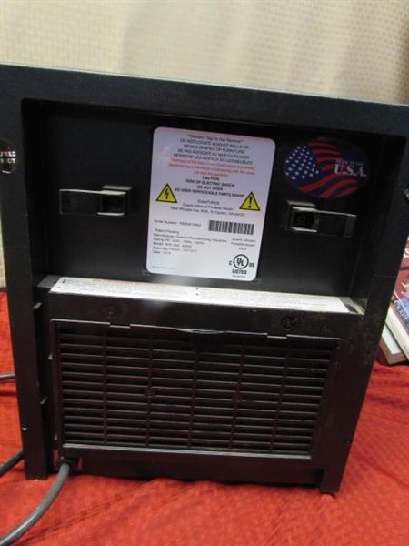 Lot Detail Eden Pure Space Saver Heater