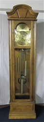VINTAGE HOWARD MILLER GRANDFATHER CLOCK