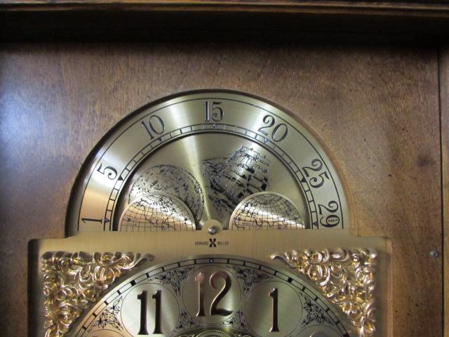 Item Detail Vintage Howard Miller Grandfather Clock