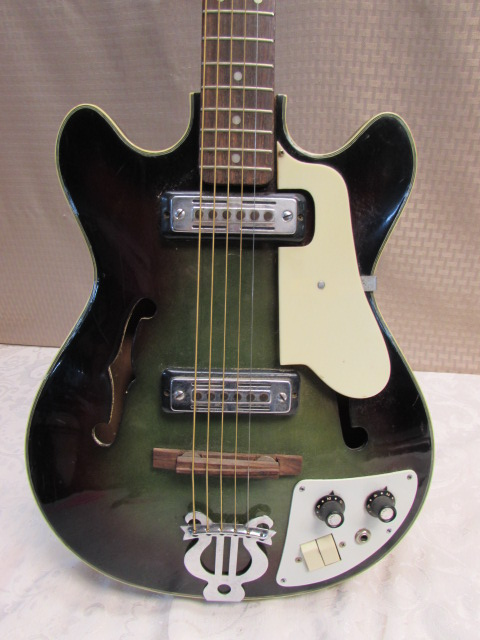 Lot Detail Teisco Del Ray Ep7 Vintage Electric Guitar