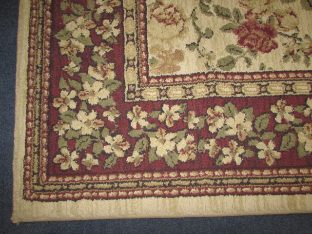 Lot Detail Beautiful Victorian Style Area Rug