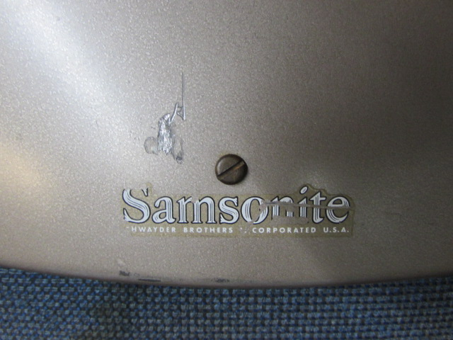 Pleasant Lot Detail Vintage Samsonite Metal Folding Chair Cjindustries Chair Design For Home Cjindustriesco