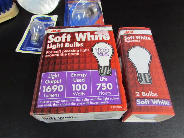 Lot Detail Light Bulbs Amp Toilet Plunger