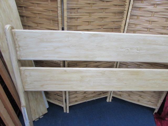 lot detail wood full size bed frame. Black Bedroom Furniture Sets. Home Design Ideas