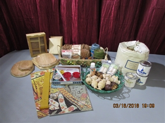 VINTAGE CRAFT SUPPLIES FOR BEADING, MACRAME & MORE