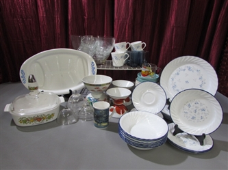 CORNING/CORELLE WARE & MORE