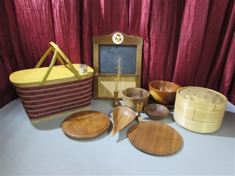 TEAK/REDWOOD/BAMBOO & MORE