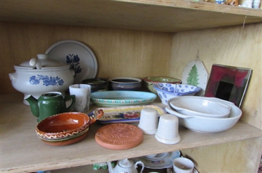 PFALTZGRAFF SOUP TUREEN,PLATE AND MORE