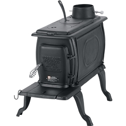 SMALL WOOD STOVE IN CRATE