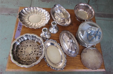 SILVER DISHES