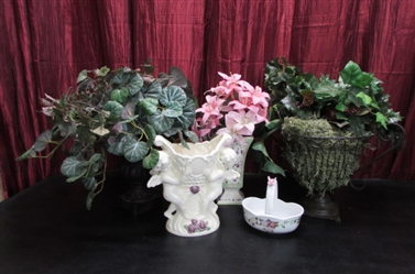CERAMIC AND OTHER VASES/URNS