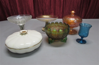 VINTAGE/ANTIQUE CANDY DISHES