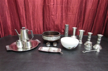 PEWTER, STAINLESS & MORE