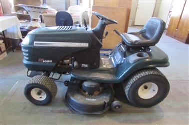"CRAFTSMAN LT1000 RIDING LAWNMOWER WITH 42"" MOWER DECK *LOCATED OFF-SITE*"