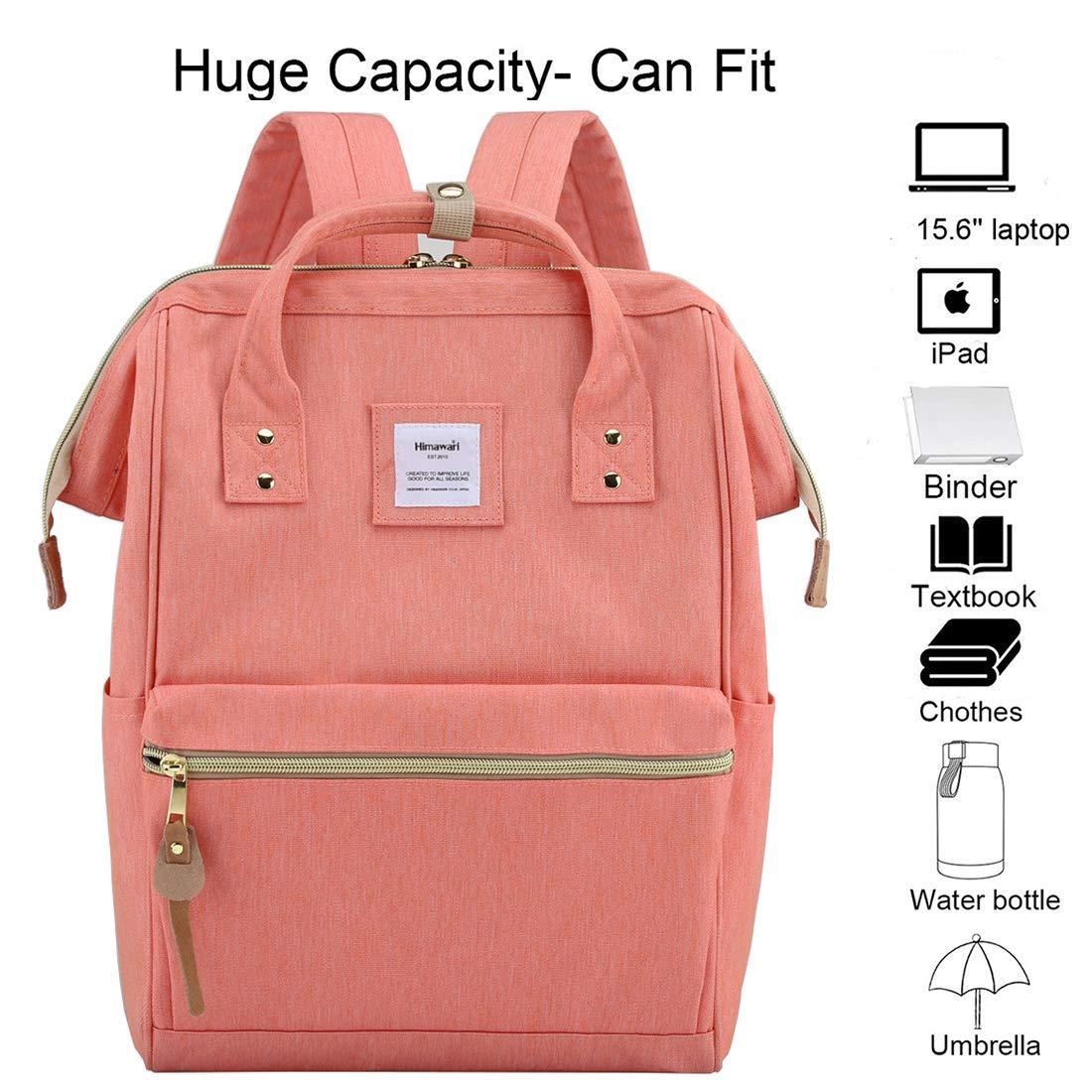 Himawari School Waterproof Backpack 14.9 College Vintage